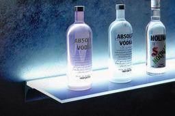 Профиль для стеклянных полок с подсветкой (6мм)