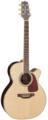 TAKAMINE G70 SERIES GN71CE-NAT электроакустическая гитара типа NEX CUTAWAY, цвет натуральный, верхняя дека массив ели, нижняя дека и обечайки Rosewood, гриф махогани, накладка на гриф Rosewood, преамп TK-40D со встроенным тюнером