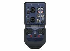Zoom U-44 ручной аудиоинтерфейс, 4 входа, 4 выхода