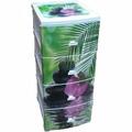 Комод 4-х секционный с декором Орхидея