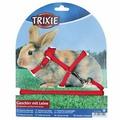 Набор TRIXIE (шлея 8мм + поводок 1,3м) для кроликов, нейлон