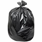 Мешки для мусора, 160 л, лайма, комплект 10 шт., рулон, ПВД, особо прочные, 90х110 см, 100 мкм, черные Лайма