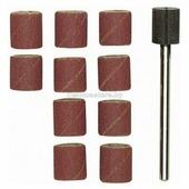 Насадка для шлифования+держатель з120 (10 шт) хвостовик 3мм Proxxon (prx-28978)