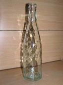 """Бутылка с надписью """"Talko * KAUBA MARK"""" белое стекло"""