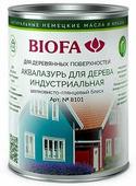 8101 Аквалазурь для дерева, индустриальная BIOFA (Биофа) - 8104 Бамбук, 1 л, Производитель: Biofa