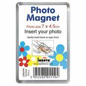 Y1119 рамка Acrylic магнит на холодильник 4.5x7см