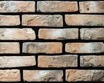 Декоративный искусственный камень РокСтоун Кирпич Бельгийский 1311п, Кремовый