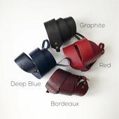 Кожаный фоторемень или ремень для сумки Graphite