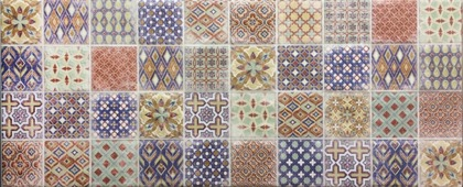 Керамическая плитка Атем Керамический декор Endi Pattern