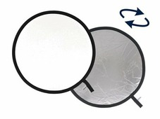 Отражатель круглый складной Lastolite LL LR3831 серебряный/белый 95 см