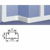Профиль кабель-канал 50x105 - 1 секция - 1 крышка 65 мм - длина 2 метра. Цвет Белый. Legrand DLP (Легранд ДЛП). 010429