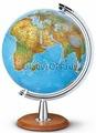 Глобус на деревянной подставке диаметр 40 см с подсветкой Nova Rico ATLANTIS 40 СМ