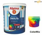 Эмаль Alpina Аква эмаль, для радиаторов, 0,9 л/1,08 кг, акриловая водно-дисперсионная, шт.