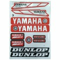 Наклейки TB Yamaha Dunlop white