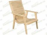 Кресло с изгибом, кедр