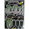 Наклейки LP Monster Energy Taurine one industries