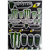 Наклейки LP Monster Energy Taurine one industries