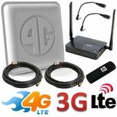 Комплект усиления 3G 4G OPTIMA - Интернет на дачу / в офис