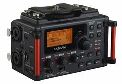 Tascam DR-60D MK2 многоканальный портативный аудио рекордер, Broadcast Wav (BWF)/MP3