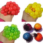 Игрушка Мячик Антистресс 6см Mesh squish ball