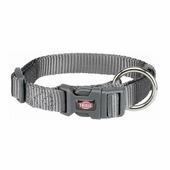 Ошейник TRIXIE Premium Collar M-L 35-55см/20мм графит