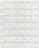 Лист формата Optima (200х250 мм) на 35 ячеек (35х33 мм) B090201