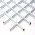 Потолок грильято Люмсвет белый матовый 75*75*30 мм