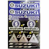 Наклейки LP Suzuki Dark Blue