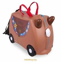 Детский чемодан на колесиках Лошадка Бронко Trunki 0183-GB01