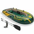 Надувная лодка Intex 68349 Seahawk-300 (с веслами и насосом)