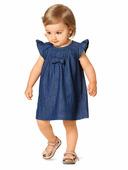 Электронная выкройка Burda - Платье с рукавами-крылышками 9358