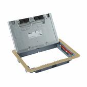 Крышка для напольной коробки латунь стандартное исполнение 8-12 модулей. Цвет Латунь. Legrand (Легранд). 088006