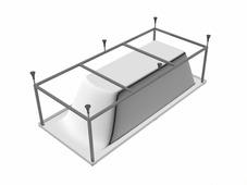Каркас для ванны Kolpa-San Tamia 180 x 80 180 / 80 см
