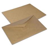 Крафт конверт, С4 (229*324мм), декстрин, клапан треугольный. Конверты - в упаковке 250 шт.