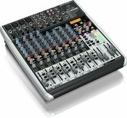 Behringer QX1622USB аналоговый микшер с USB/аудио интерфейсом, XENYX микр. предусилит. и компресс., беспровод. опциями,Multi-FX процессор, 16 каналов, Klark Teknik