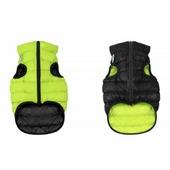 Курточка двухсторонняя AiryVest, салатово-черная, S, дл: 27-30 см
