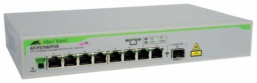 Коммутатор (switch) Allied Telesis (AT-FS708/POE)