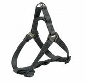 Шлея TRIXIE для собак Premium Harness L 65-80см/25мм графит