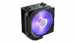 Вентилятор Cooler Master Hyper 212 RGB Black Edition (RR-212S-20PC-R1) (Soc2066/2011-v3/2011/1151/1150/1155/1156/1366/AM4/AM3+/AM3/AM2+/AM2/FM2+/FM2/FM1, 650-2000rpm, 57.3CFM, 8-30dB, 4pin, 150W)