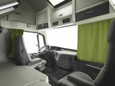 Комплект автоштор Эскар Blackout - auto XL, светло - зеленый, 2 шторы 240 х 100 см, 2 шторы 120 х 160 см, 2 подхвата