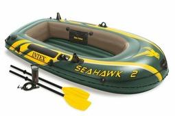 Надувная лодка INTEX Seahawk 200 Set 68347