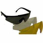 Очки стрелковые Sporty набор с 3 линзами сменными