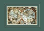 Большая карта мира, 98х68 см