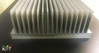 Радиаторный алюминиевый профиль 220х80мм