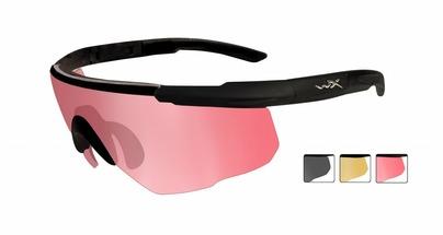 Баллистические очки WX SABER ADVANCED 309. Набор линз.