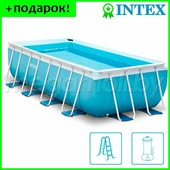 Бассейн каркасный Intex 28316 Prism Frame 400x200x100 см