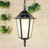 Уличный подвесной светильник 1004 1004H черное золото (GL 1004H)