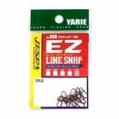 Застежки Yarie 558 EZ Line Snap, #1.5, 30 Lb, black