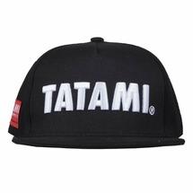 Tatami Fightwear Кепка с прямым козырьком Tatami original Snapback черная