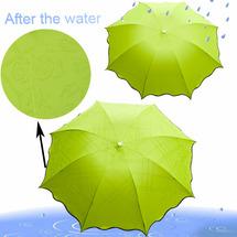 Зонт изменяющий рисунок под дождем